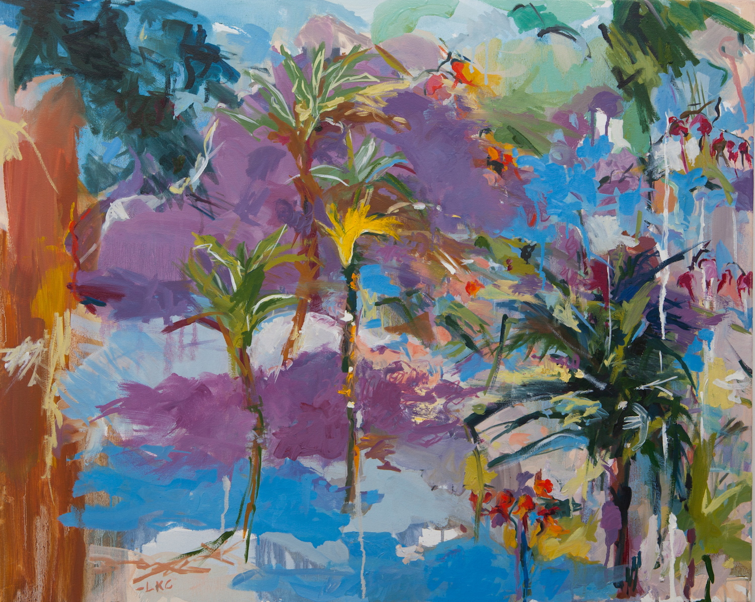 "Tropical Storm 24""x30"" oil on canvas"