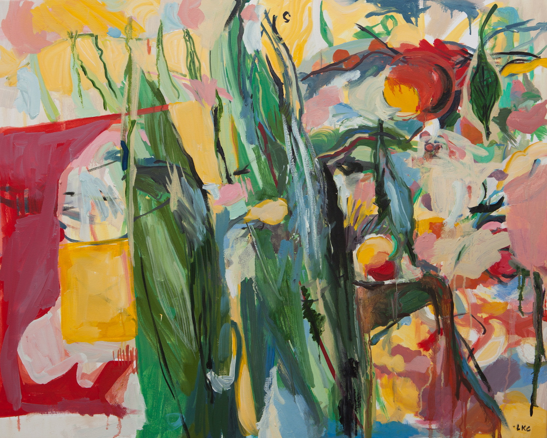"Corn 24""x32"" oil on canvas"