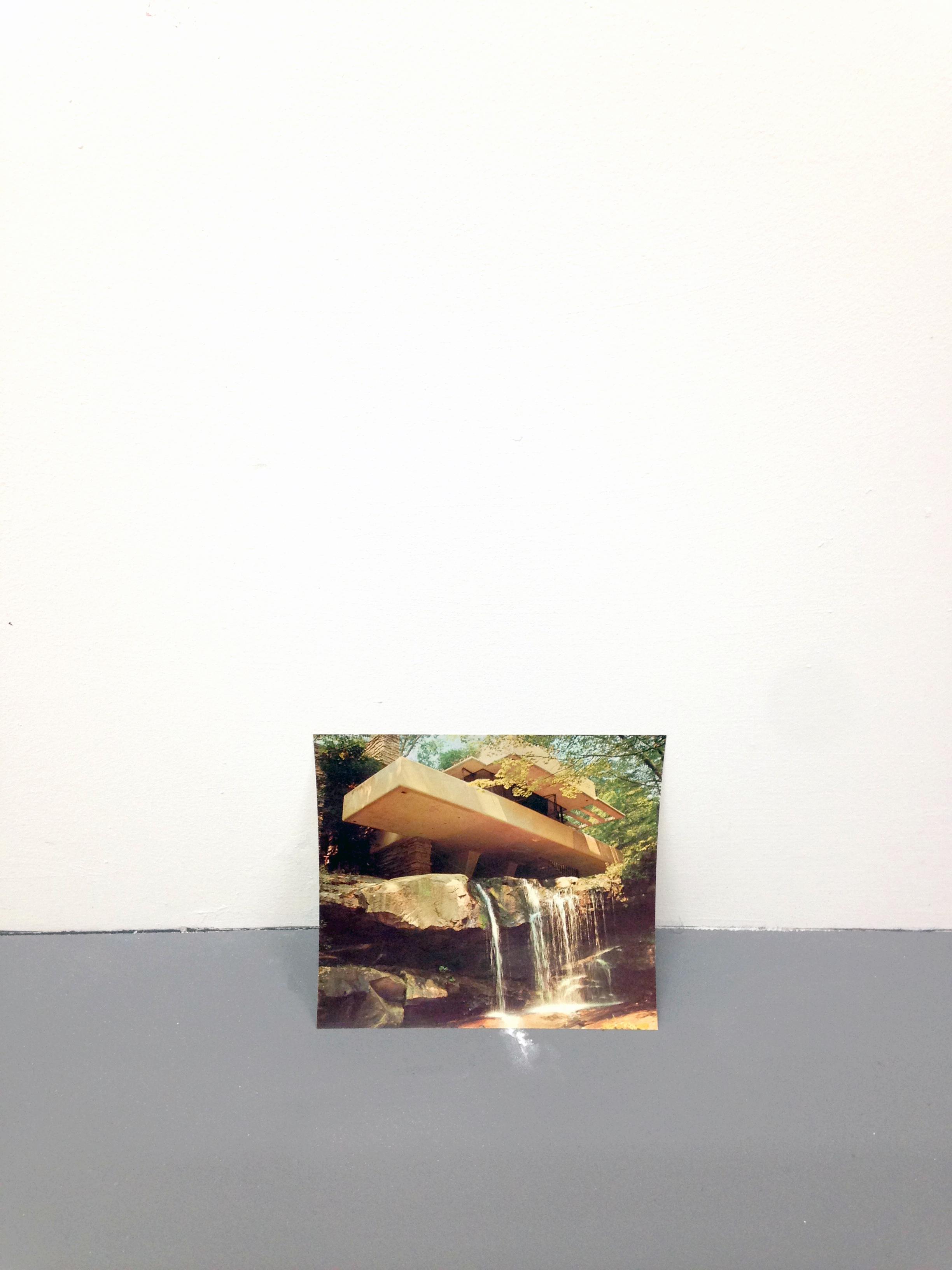 Falling Water Falling 2016 Print, Paint