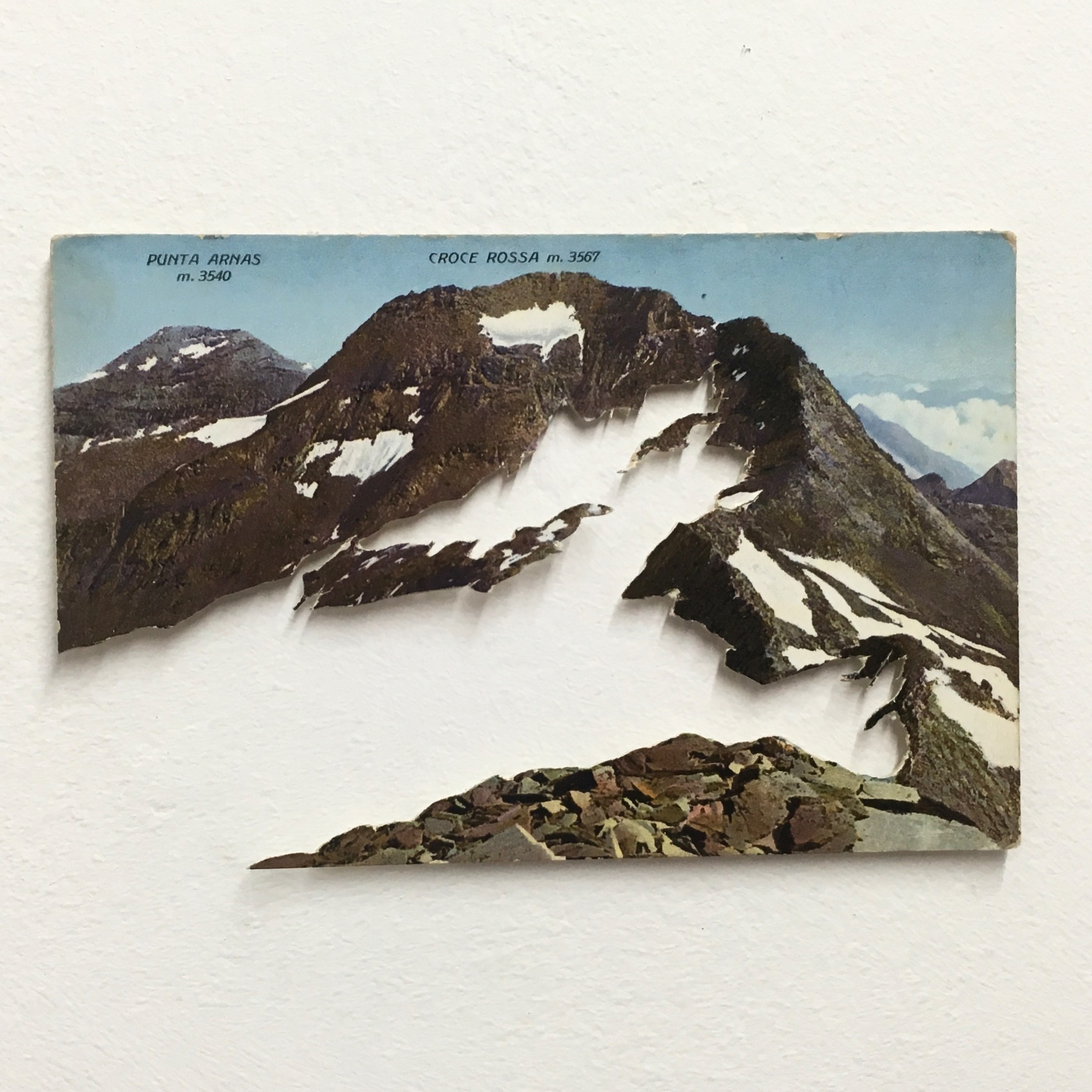 Mountain 2016 Cut Postcard