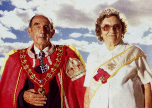 The King and Queen of Hutt River Micronation - for real.