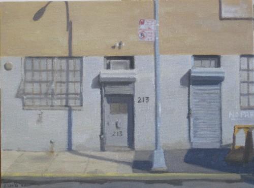 Building 213 (Grey Doors), 2013