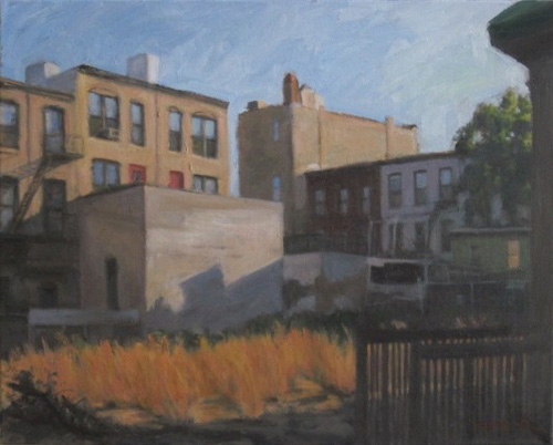 Lot on 8th Street, 2011