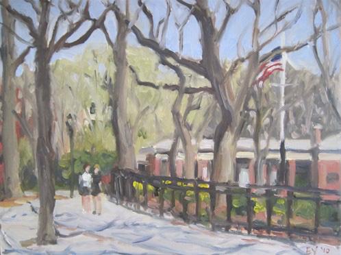 Walk in Tompkins Square Park