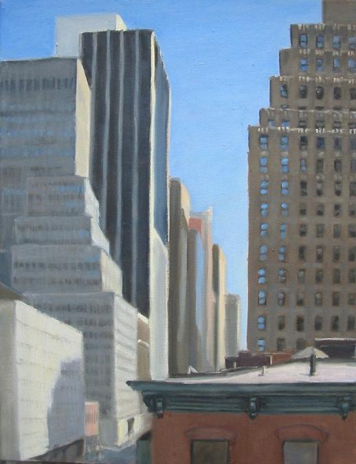 Sixth Avenue Skyscrapers