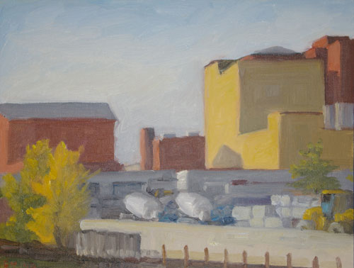 Yellow Building in Gowanus 2018