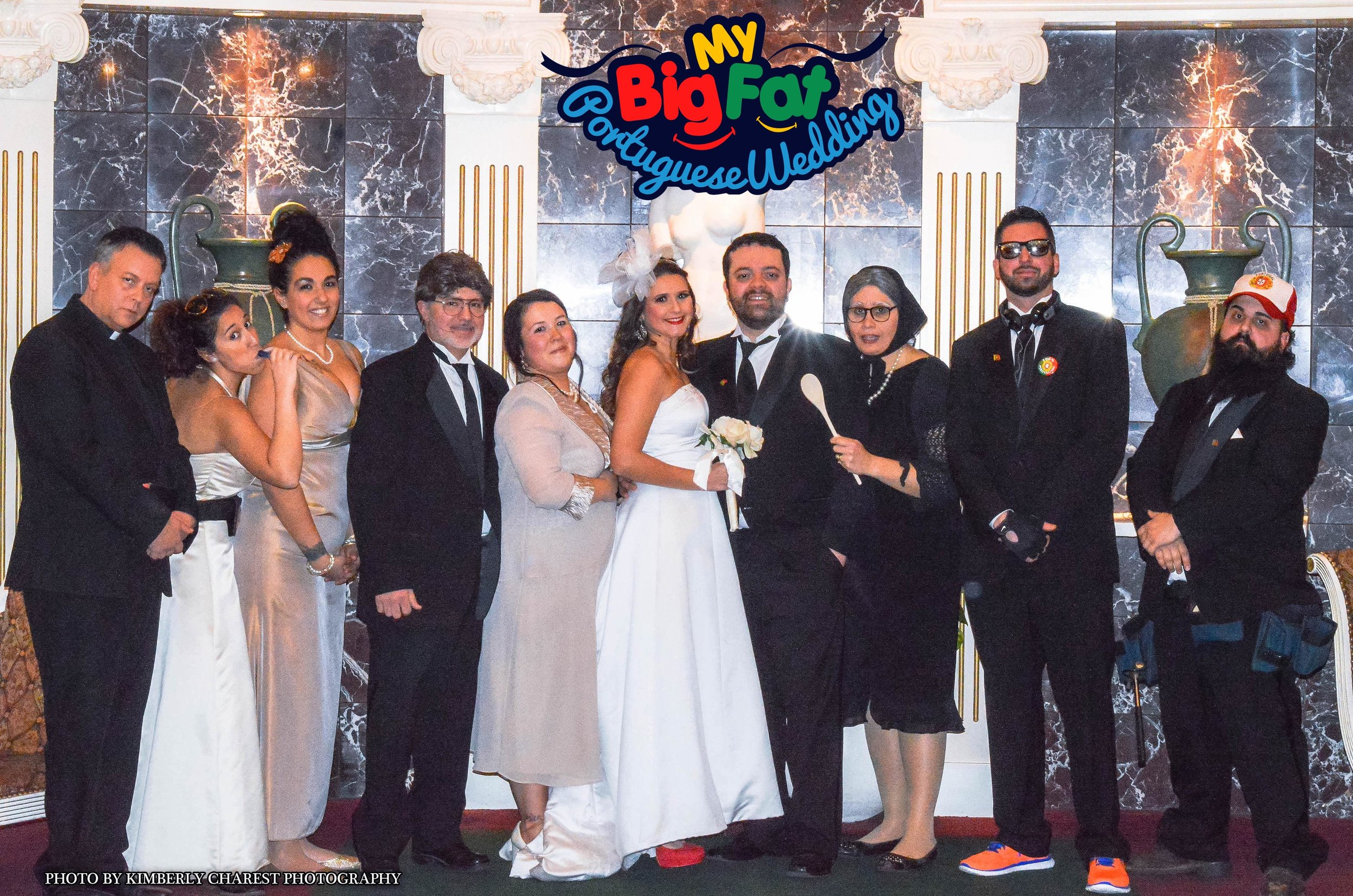 THE CRAZIEST WEDDING YOU'LL EVER BE A PART OF!