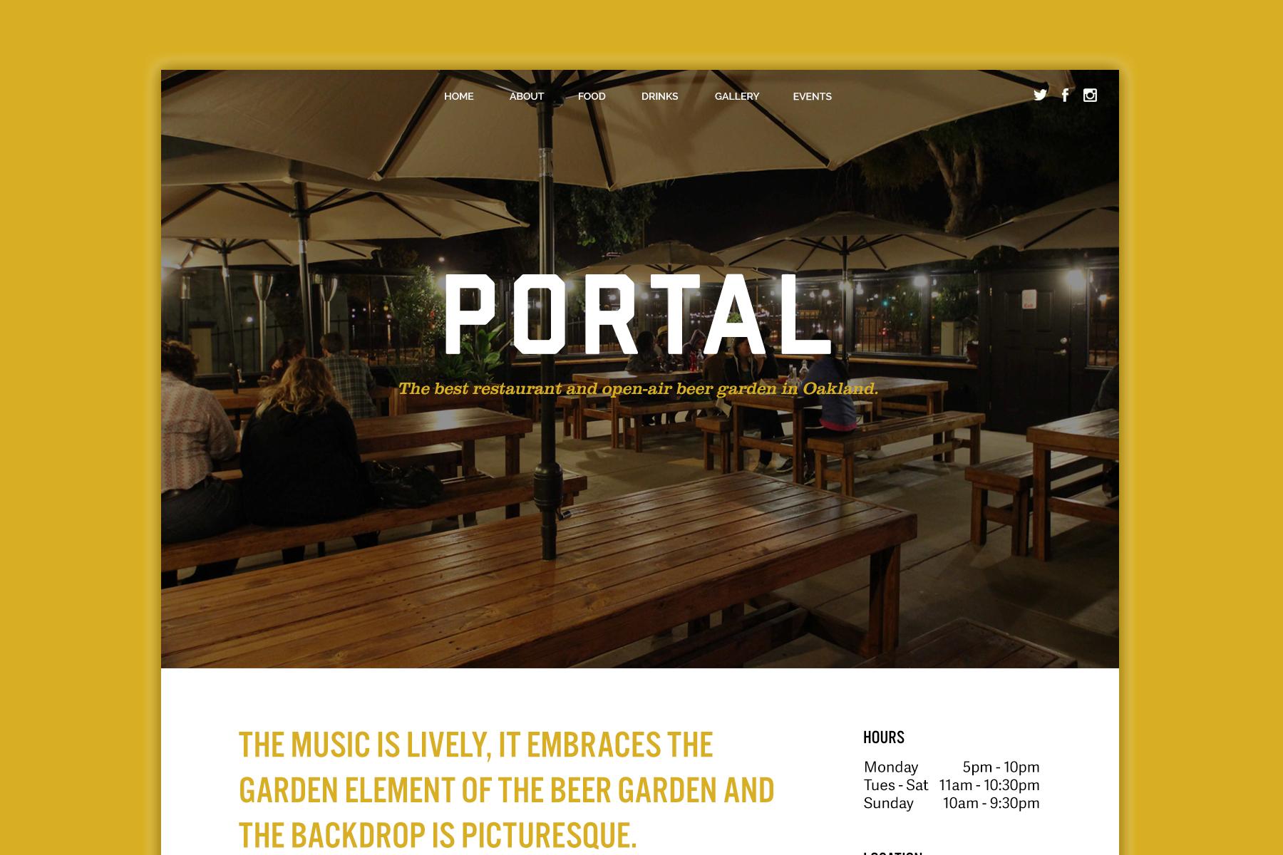 Portal Website Design