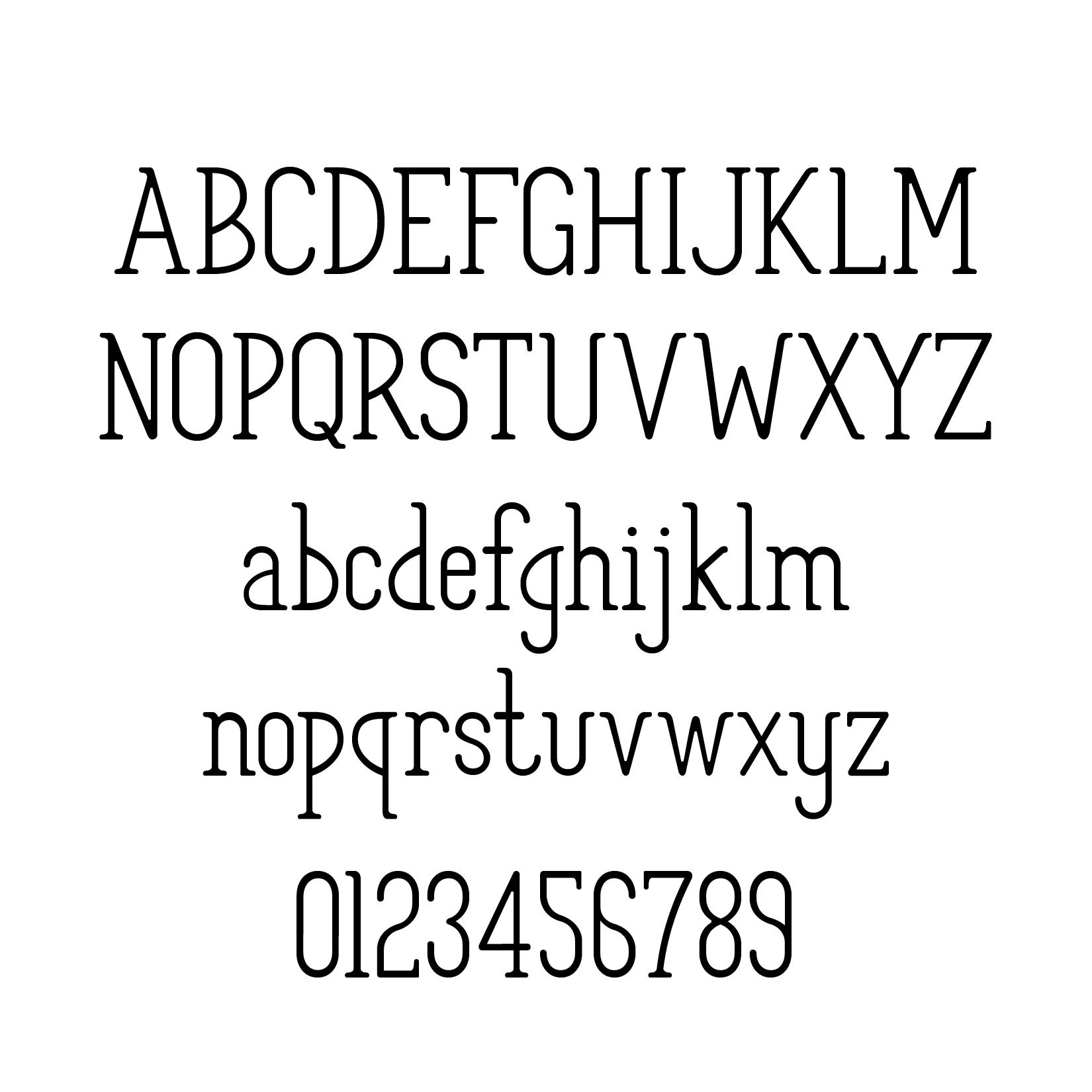 Foxtail Type Design — Brenna Rose Layne