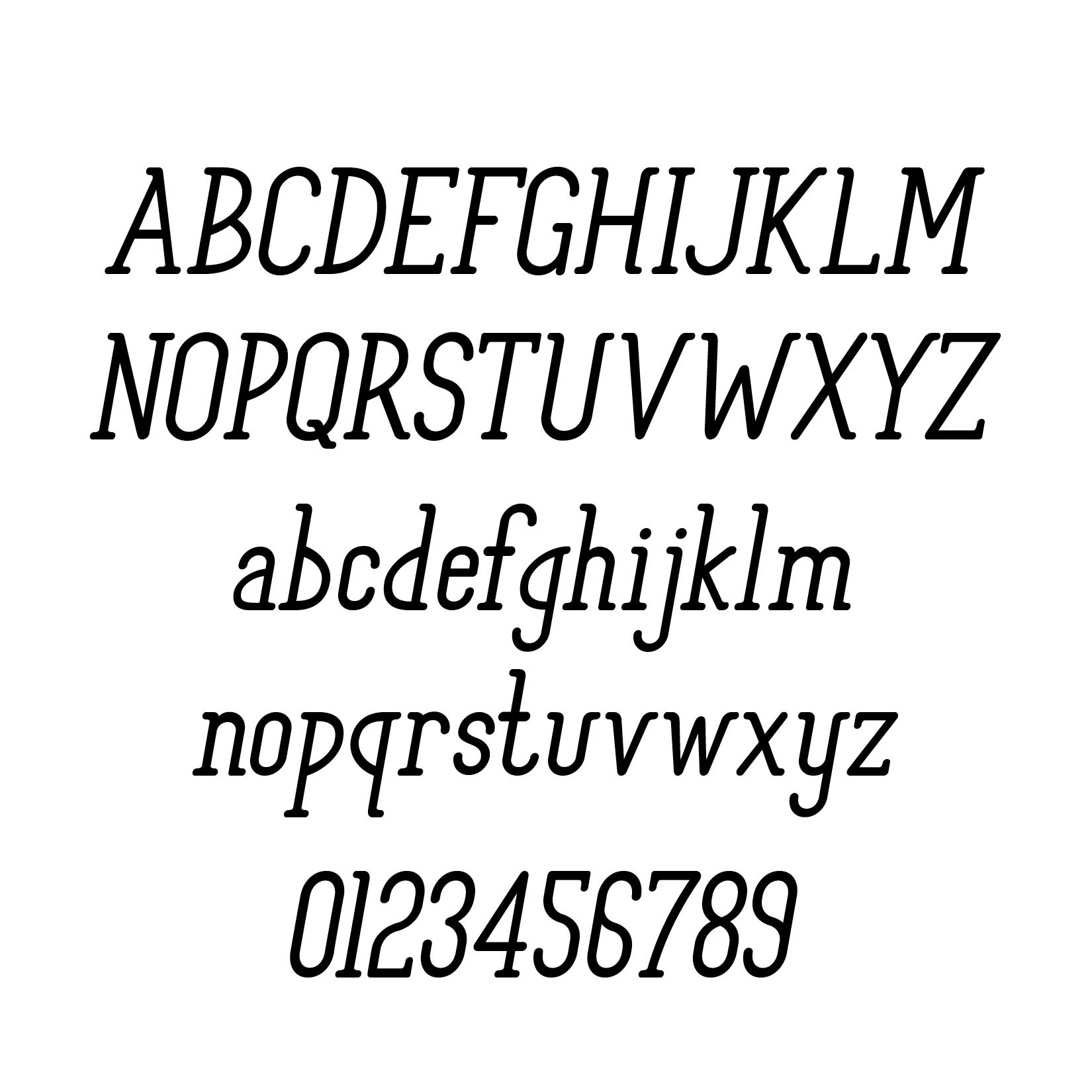 Foxtail Italic