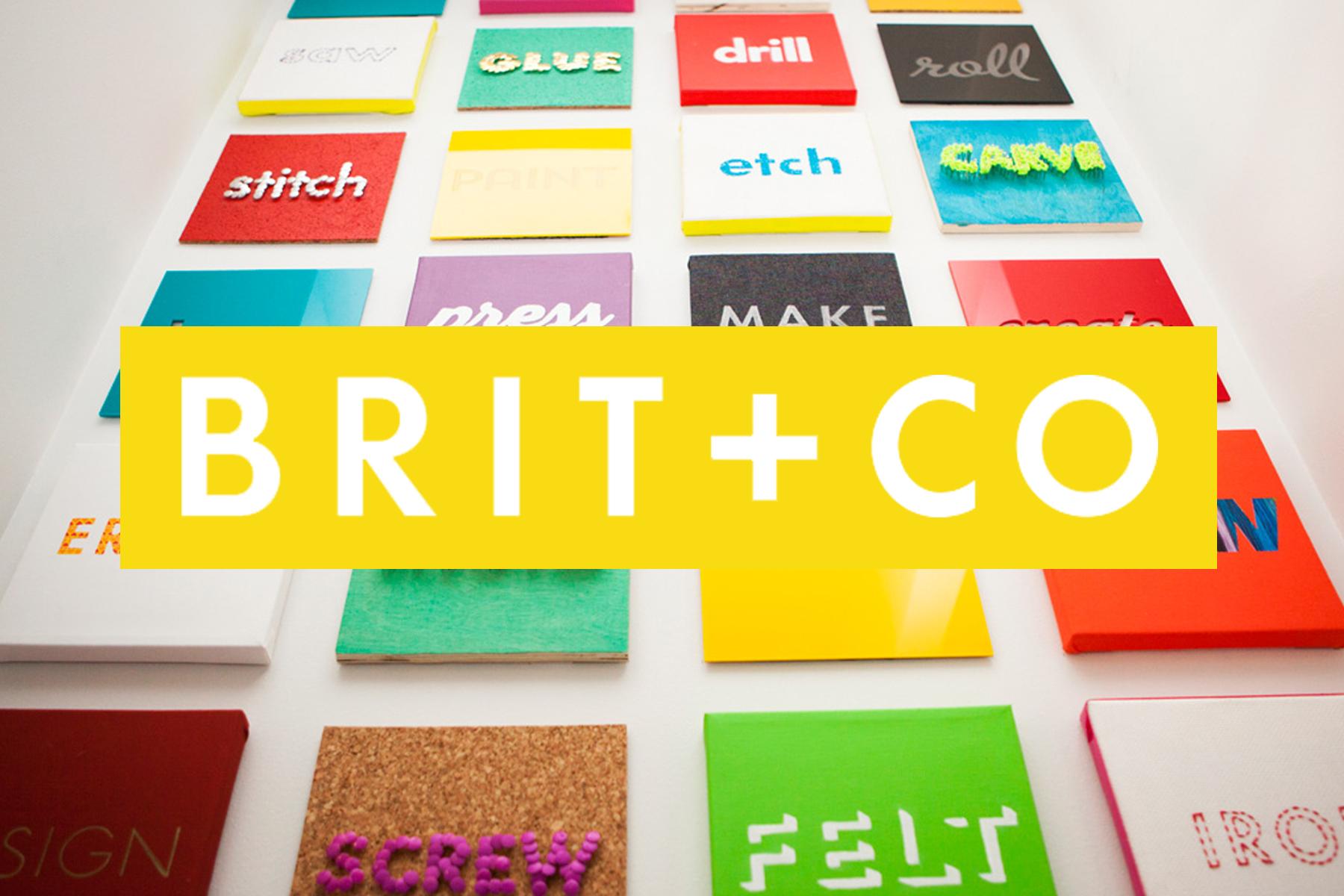Work from Internship at Brit+Co