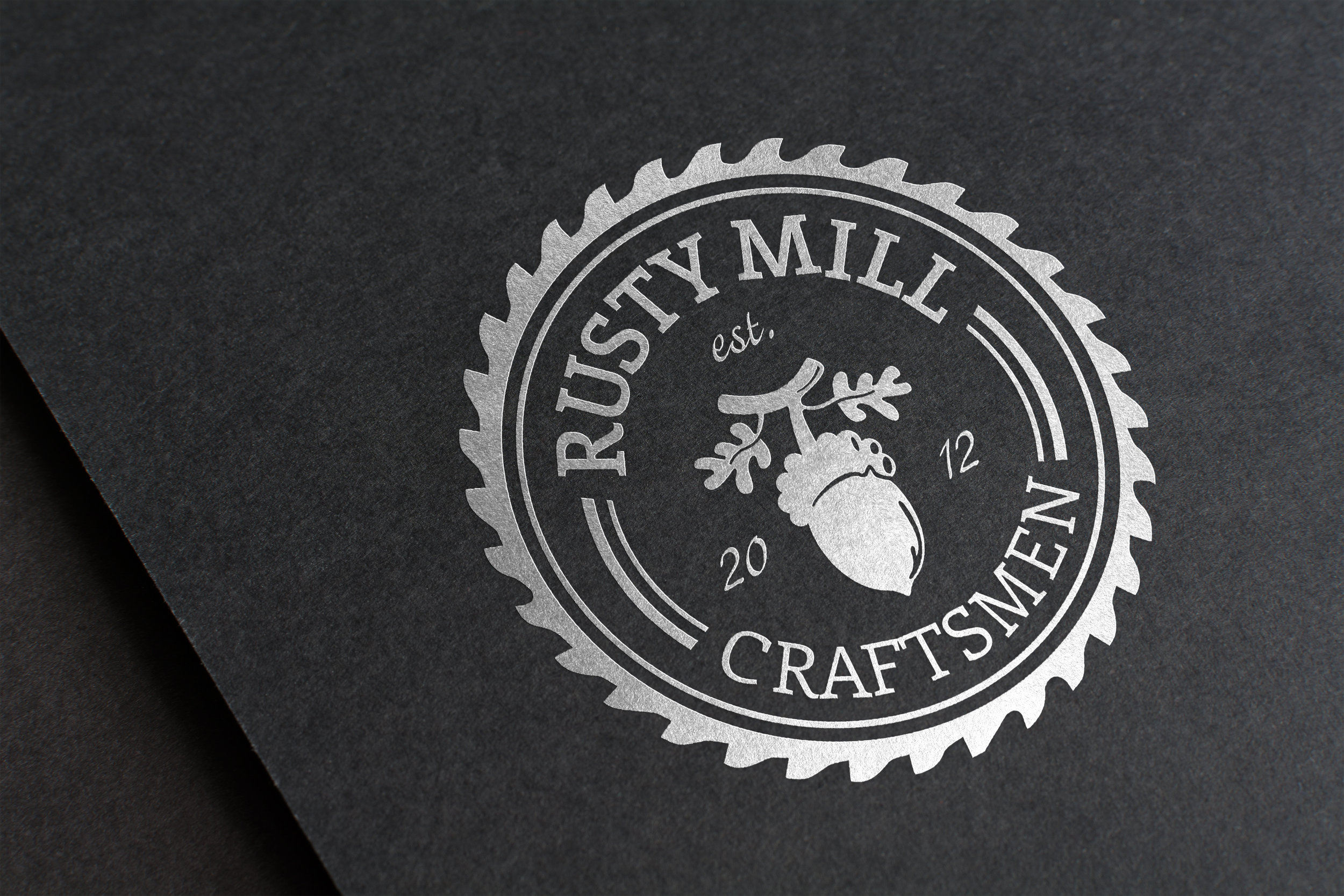 Logo & Collateral Design and Vendor Management  Rusty Mill Craftsmen  Waxhaw, NC