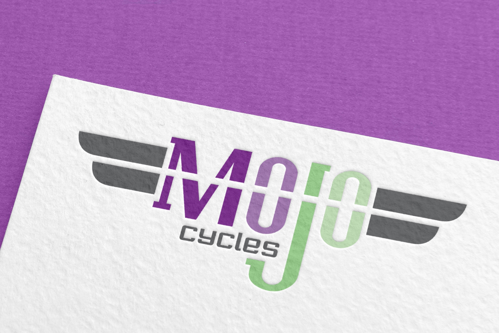 Logo & Marketing Collateral Design for   Mojo Cycles  , Matthews, NC