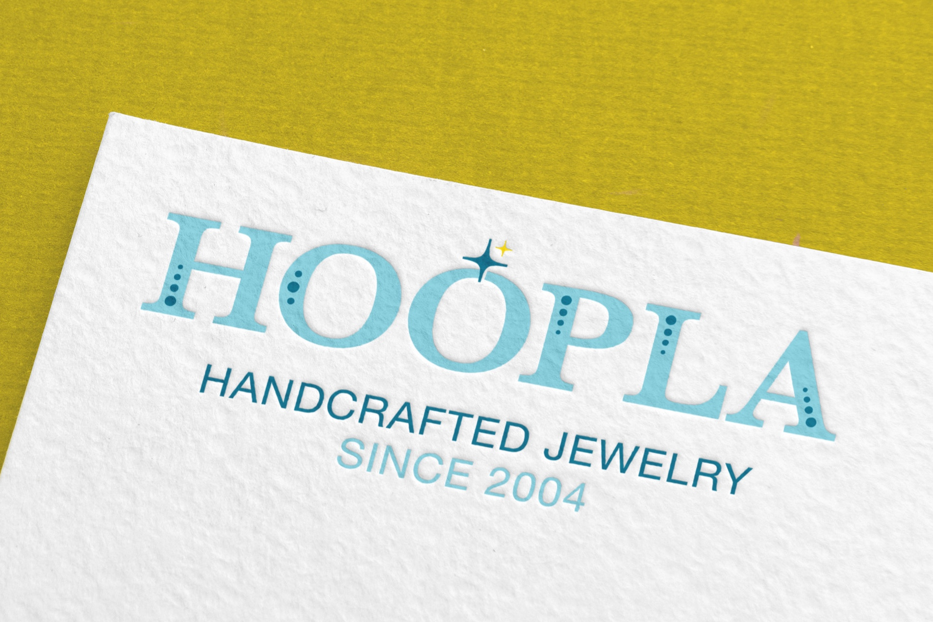 Logo & Packaging Design for Hoopla Jewelry Charlotte