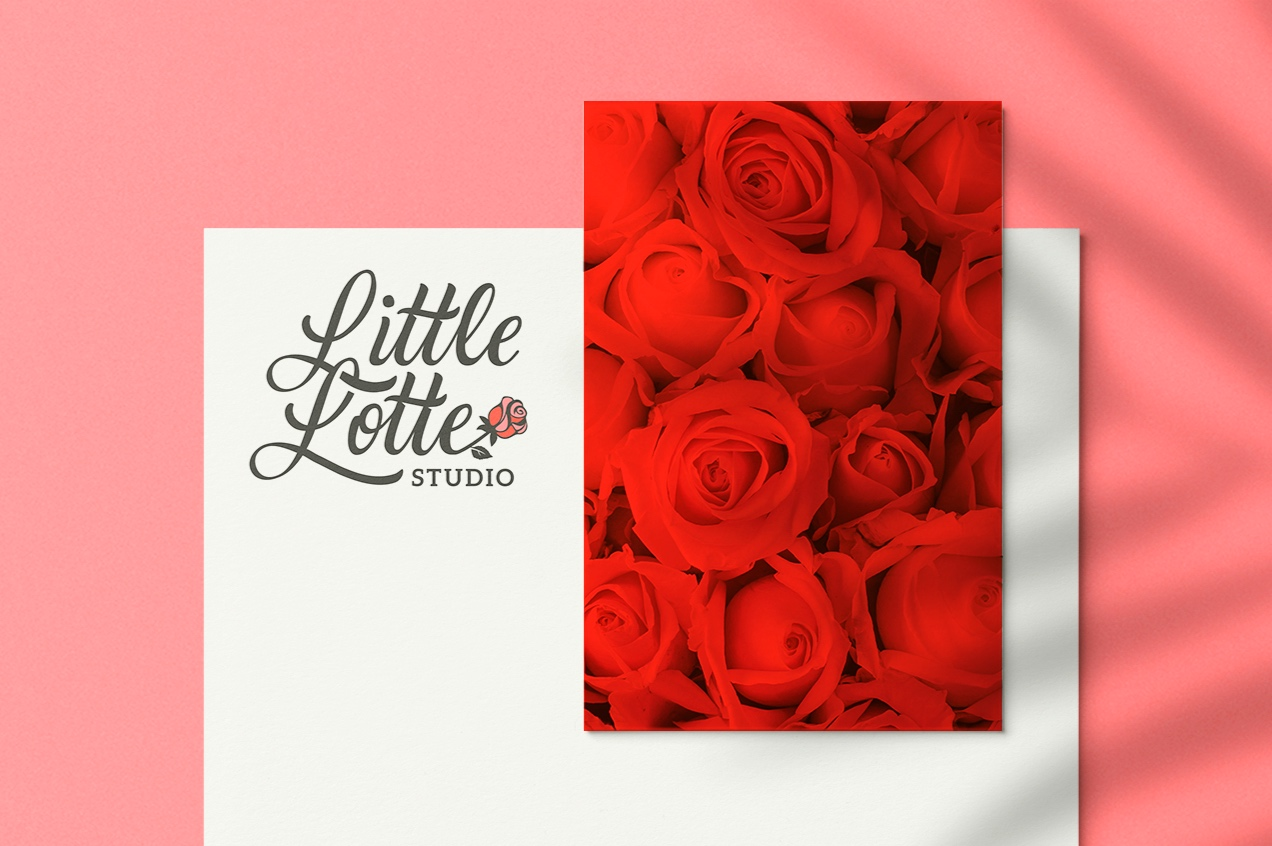 Logo Design   Little Lotte Studio   Charlotte, NC