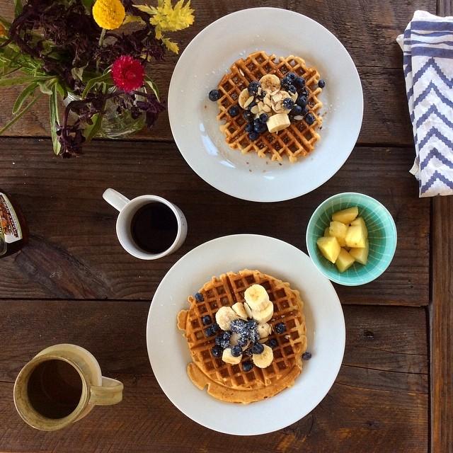 Waffle Sunday #fiftycoffees