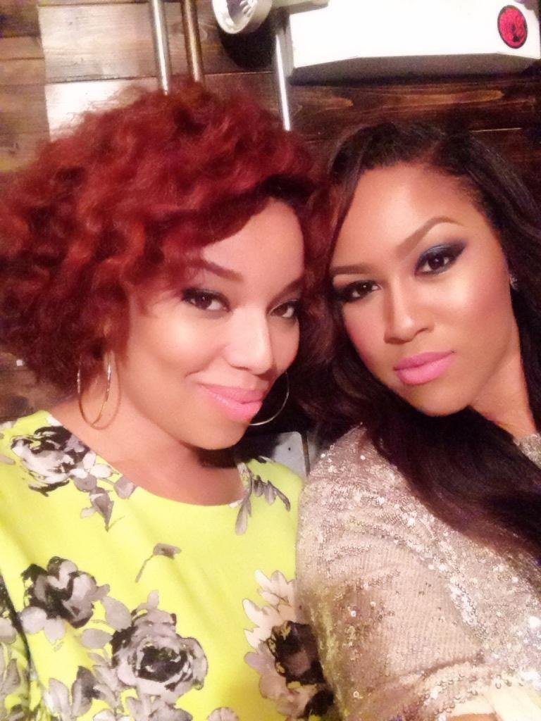 "Celebrity Makeup Artist Mia ""Mimi J"" Johnson and Me!"