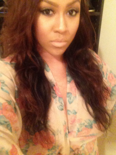 Hair washed, colored and installed.