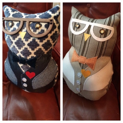 Small Owl Plushie's for $30/each.