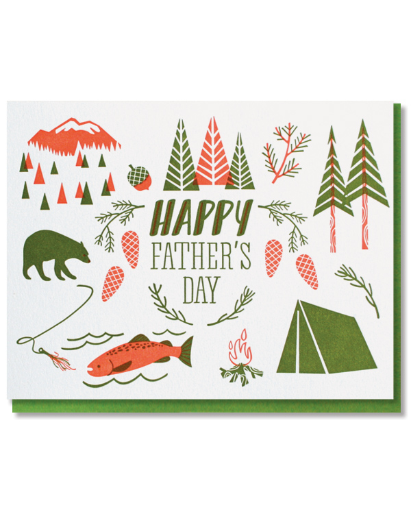 Don't forget the card! We have a great selection for every type of dad in the shop!