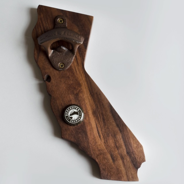 For the beer lover! I locally made magnetic bottle opener!