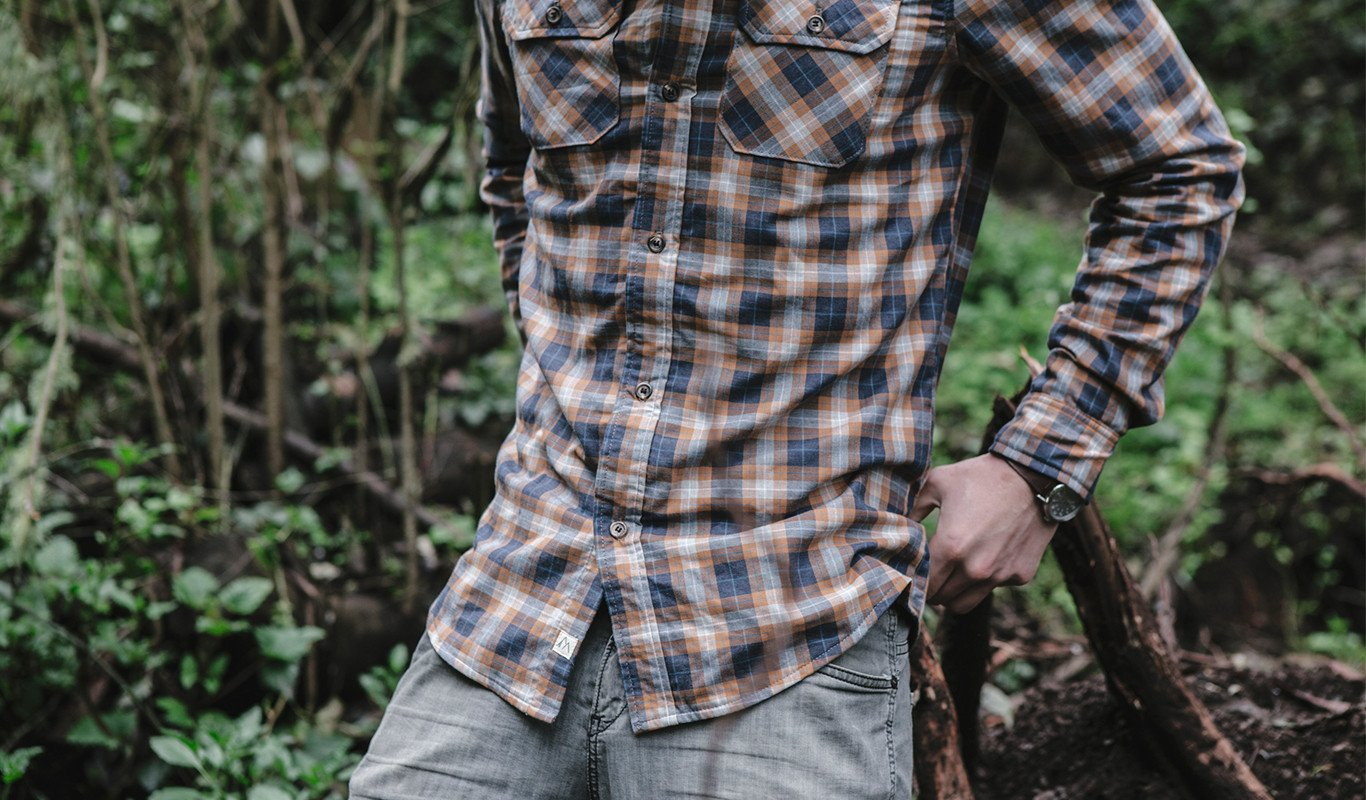Our new merino wool lined button downs wick moisture, resist odor, and regulate temperature. What could be better?