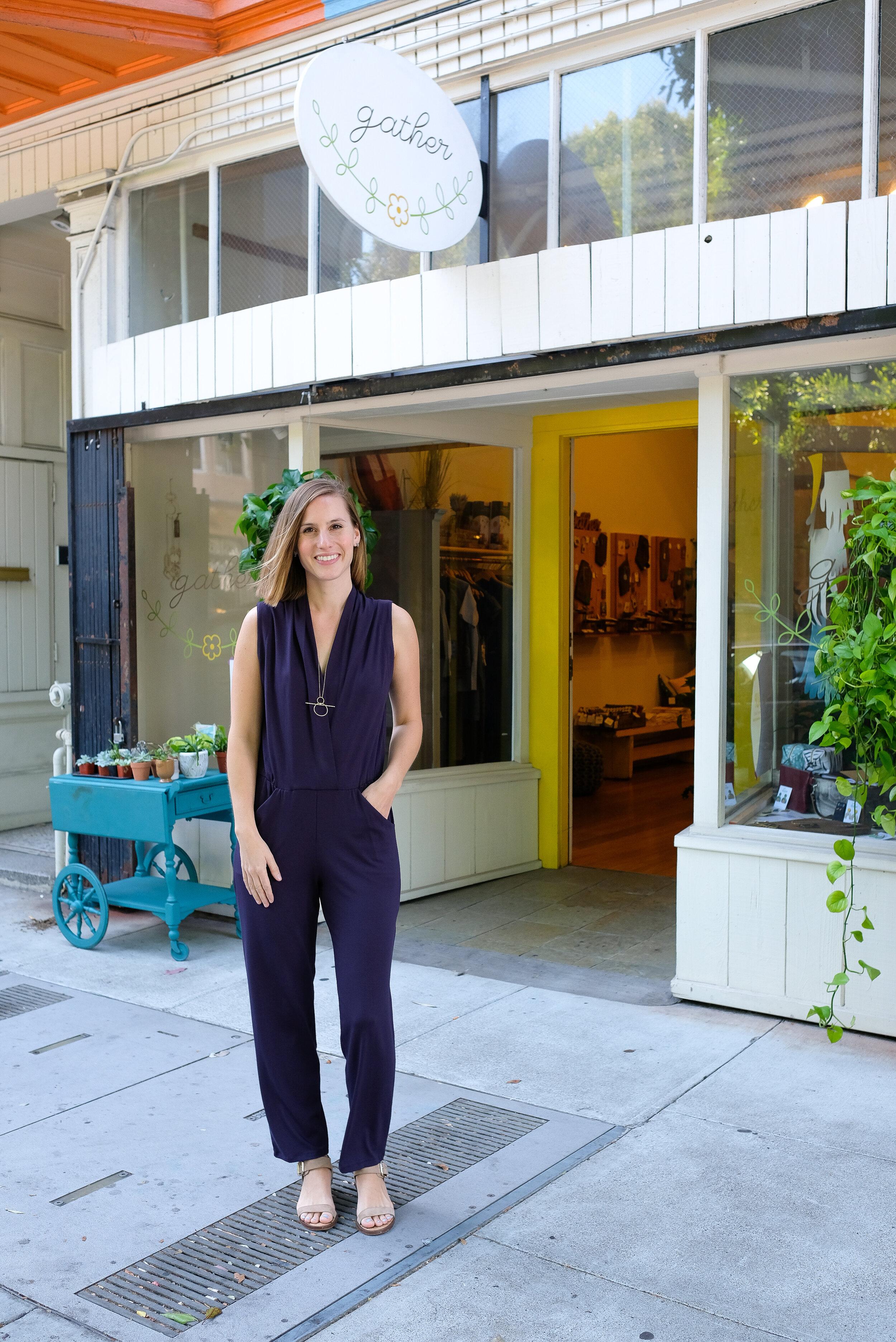 Sarah Liller Jumpsuit  retails for $198 but now $50