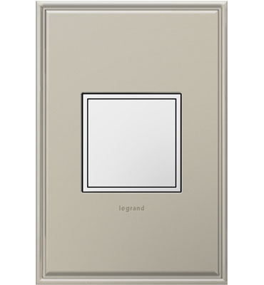 The pop out outlet from Legrand is a great look in every kitchen