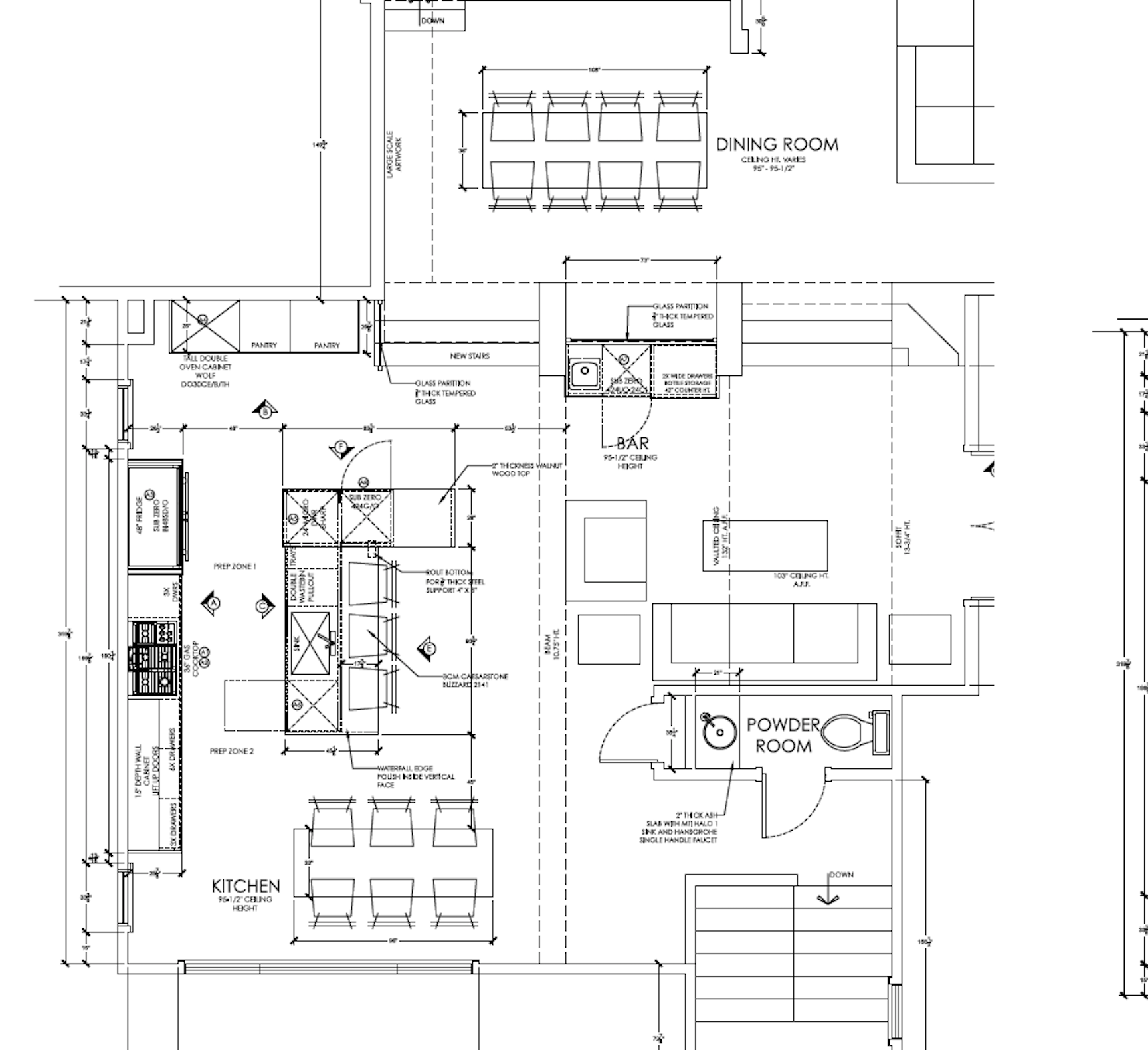 PROPOSED NEW FLOORPLAN