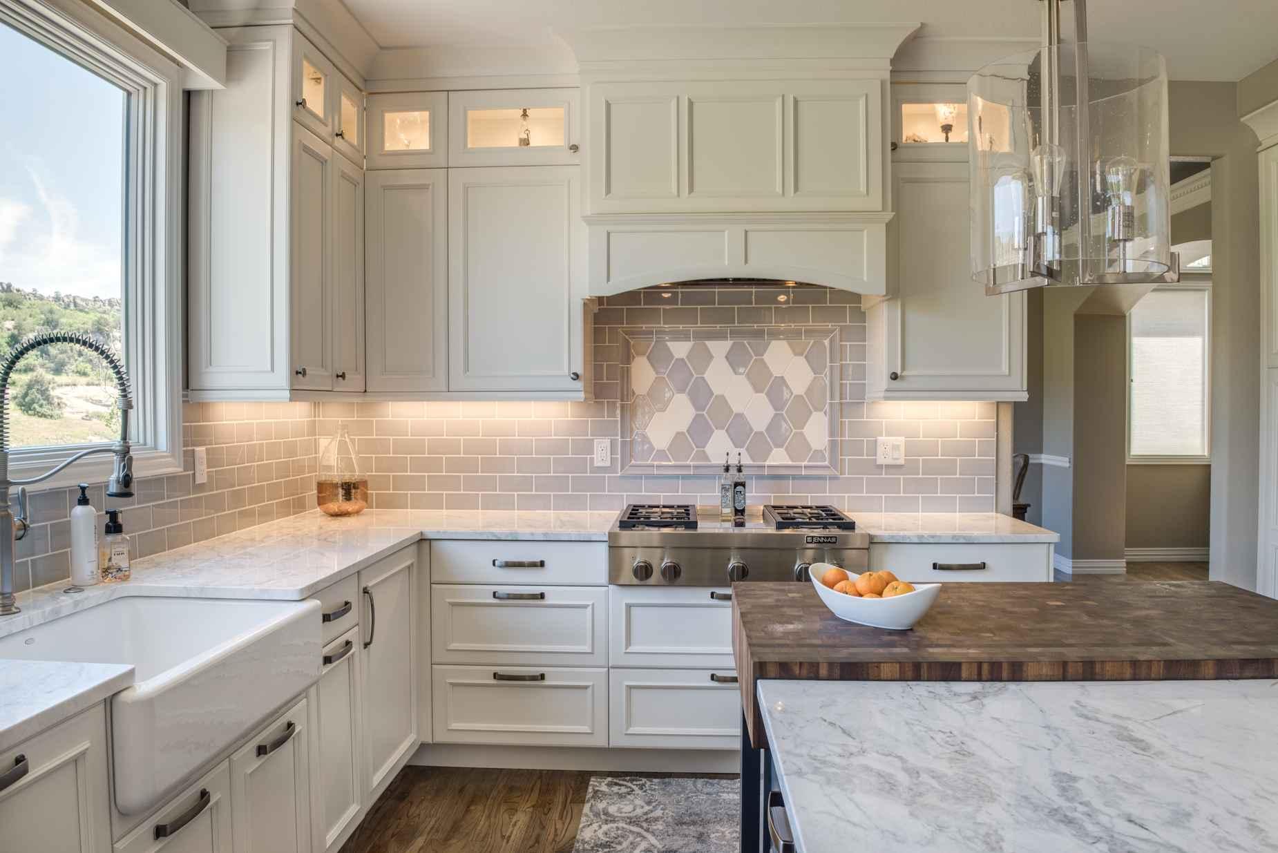 classic white — sanctuary kitchen and bath design