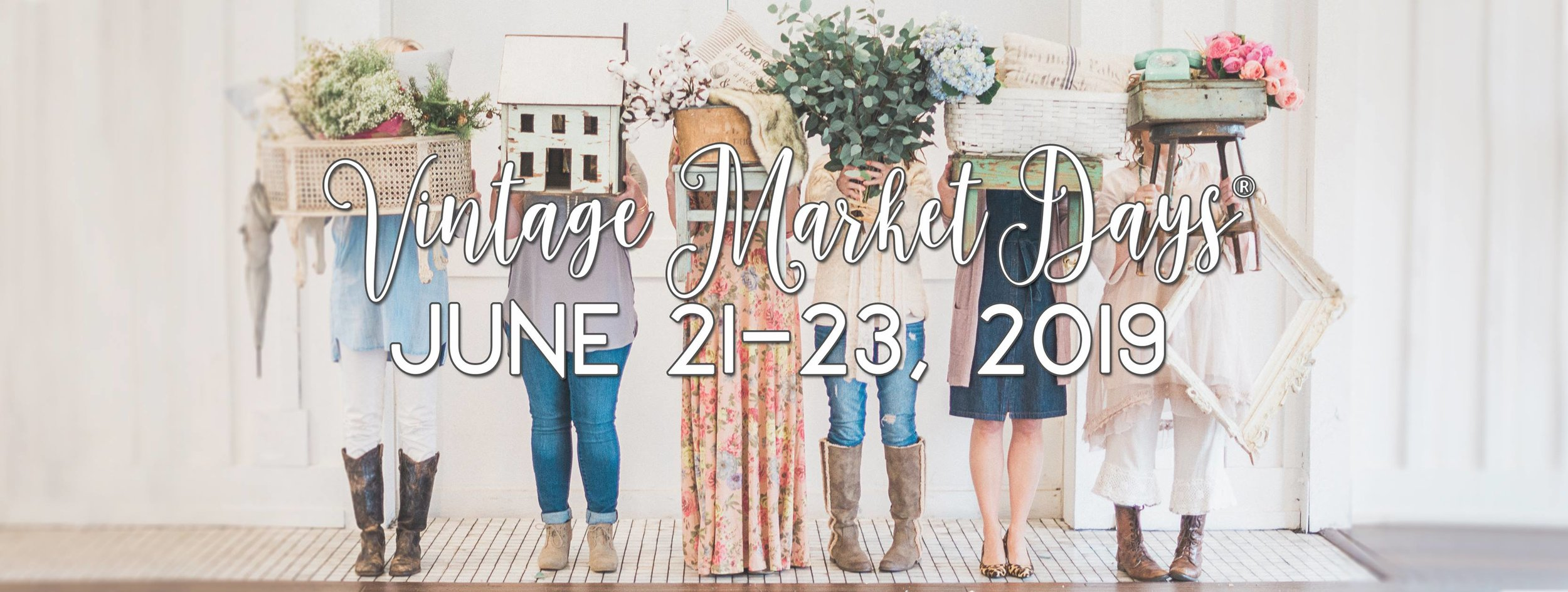 Vintage Market Days of Colorado Springs  1045 Lower Gold Camp Rd., Colorado Springs, Colorado 80905   Event Hours & Admissions   Early Buying Event (3-Day Pass)  Friday, June 21, 2019  10:00 am to 5:00 pm  General Admission (Sat/Sun)  Saturday, June 22, 2019  10:00 am to 5:00 pm  Sunday, June 23, 2019  10:00 am to 4:00 pm  Admission for children under 12 is free. Cash and credit card are accepted at the gate.  Once purchased, your ticket is good for re-entry into the event all weekend.  More Info:  coloradosprings.vintagemarketdays.com