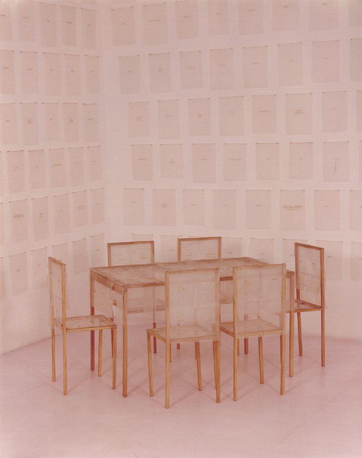 Peace Table and detail, Wall of Peace