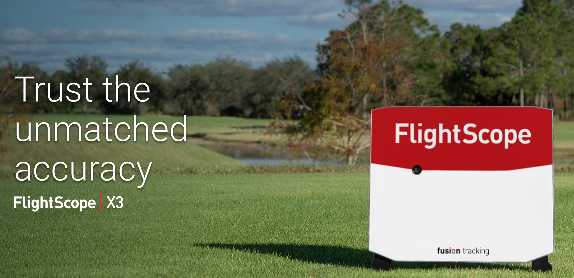 The FlightScope X3 is available now for your custom-fitting at DeMane Golf.