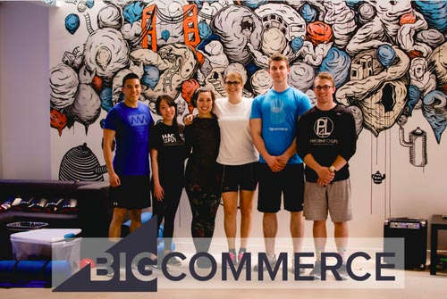 Pictured Above:   Big Commerce