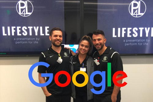 Picture Above: Lifestyle Talk at Google