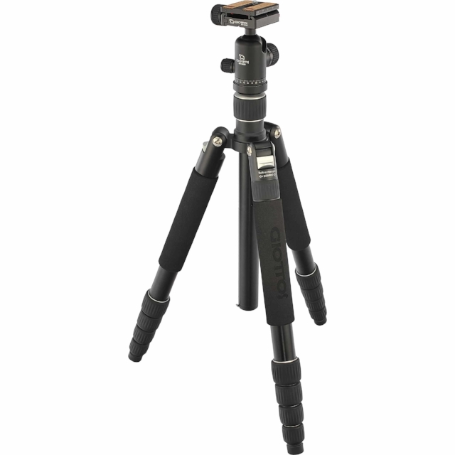 A sturdy tripod is essential for certain types of photography