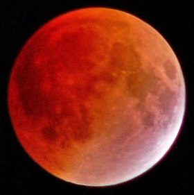 Lunar eclipses or 'blood moons' occur only 2 to 4 times per year. With total lunar eclipses even more rare.