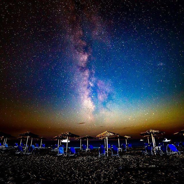 Ag. Georgios, Corfu. © diffuse photo • • #milkyway #discovery #milkywayphotography #milkyways #astrophotography #astrography #beach #nightbeach #nightphotography #starlight #sunset #bluehour #igers #awesomeearthpix #awesomeearth #nightsky