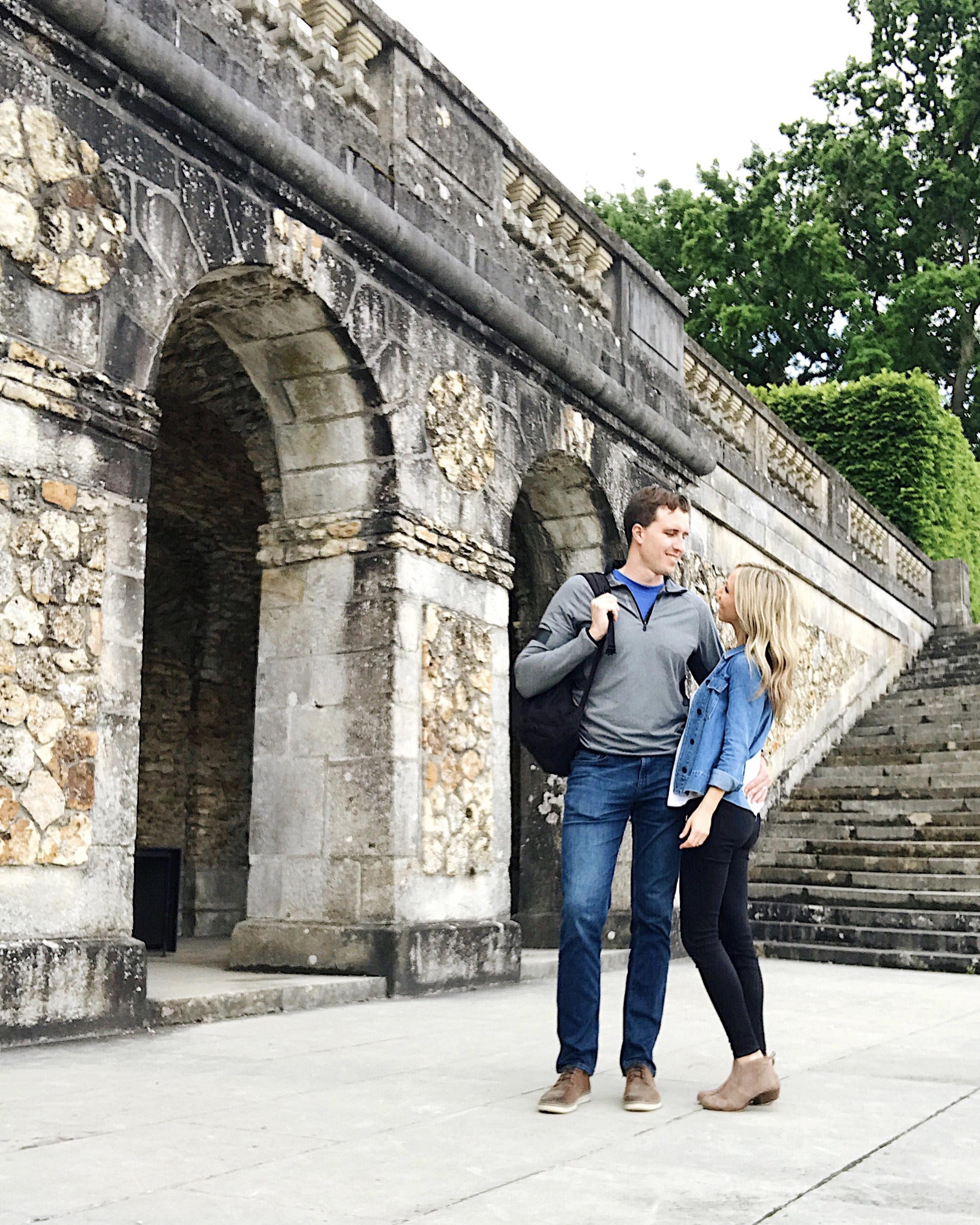 Visiting Chateau de Vaux le Vicomte outside of the city.