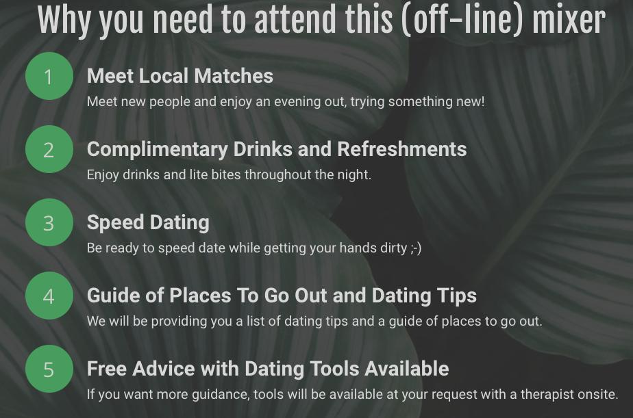 speed dating tools veiligheid dating klaring
