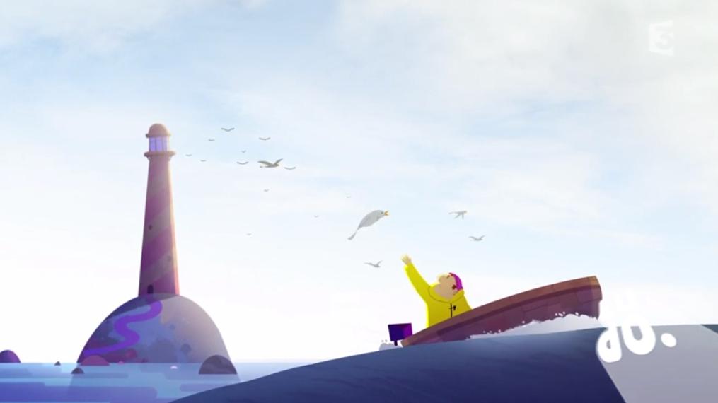 Le gardien du phare aime trop les oiseaux par clément de ruyter