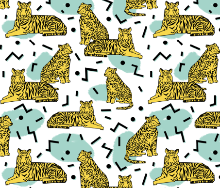 By Andrea Lauren on Spoonflower