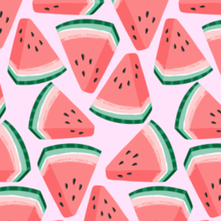 watermelon by kristinnohe on Spoonflower