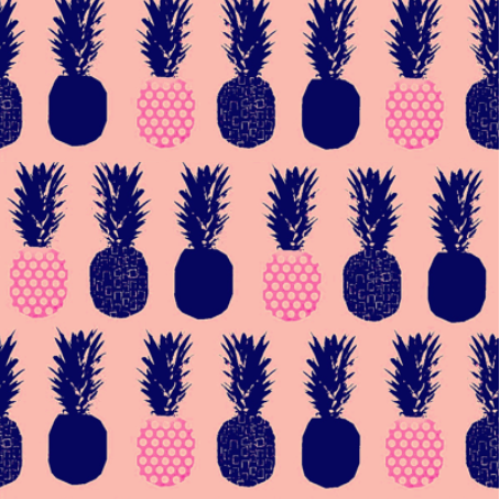 pineapple b by veemichelle on spoonflower