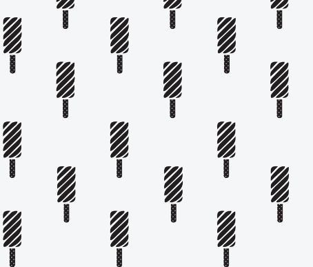 Black and White Ice Cream Sandwiches  by: bella_modiste on spoonflower