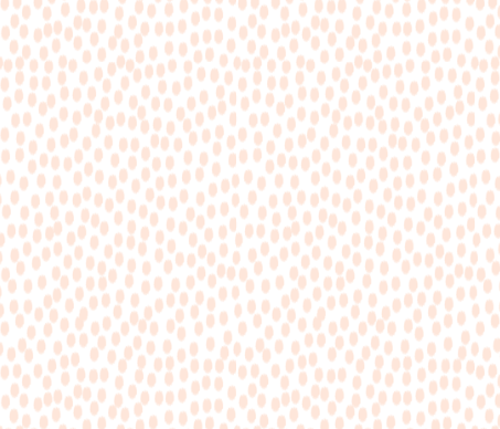 Peach and White Scattered Dots  by: sweetzoeshop on spoonflower