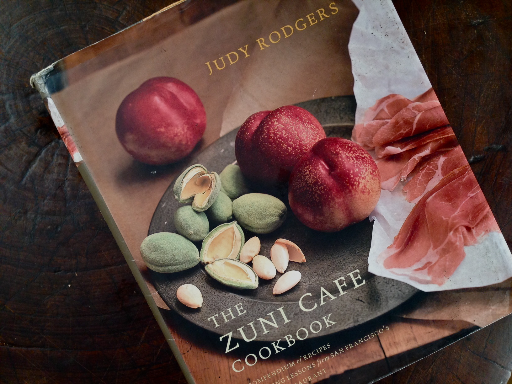 Our well-loved copy of the ZUNI Café Cookbook