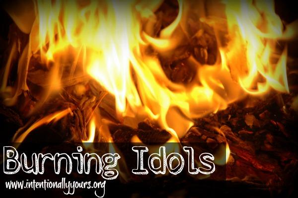 burning idols