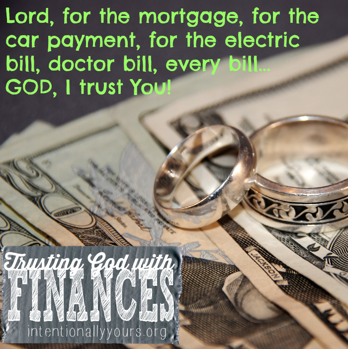 Wedding rings and large bills of money