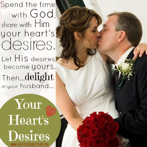 Your heart's desires